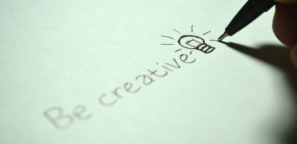 Be creative in content writing.
